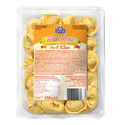 Tortelloni aux fromages 250gr (1,16,32)